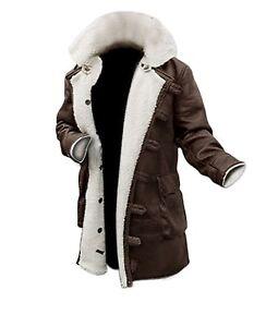 Mens Bane Original Distressed Title Knight Plus Jacket Rises About Details Coat Size Leather Trench Show Dark qSzpUVGM