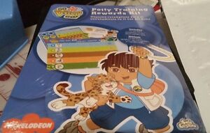 Ginsey Go Diego Go! Potty Training Rewards Kit NIP