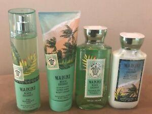 Bath-amp-Body-Works-Waikiki-Beach-Coconut-Ultra-Shea-Body-Cream-Mist-Pick-1-NEW