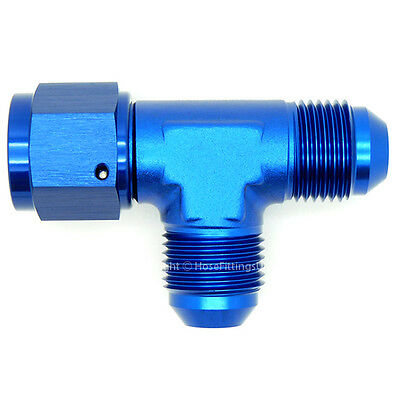 Blue Aluminum Female 8 AN to 10 AN Expanding Hose Fitting Adapters Female JIC 8AN to Male 10AN Flare Thread Hose Expander