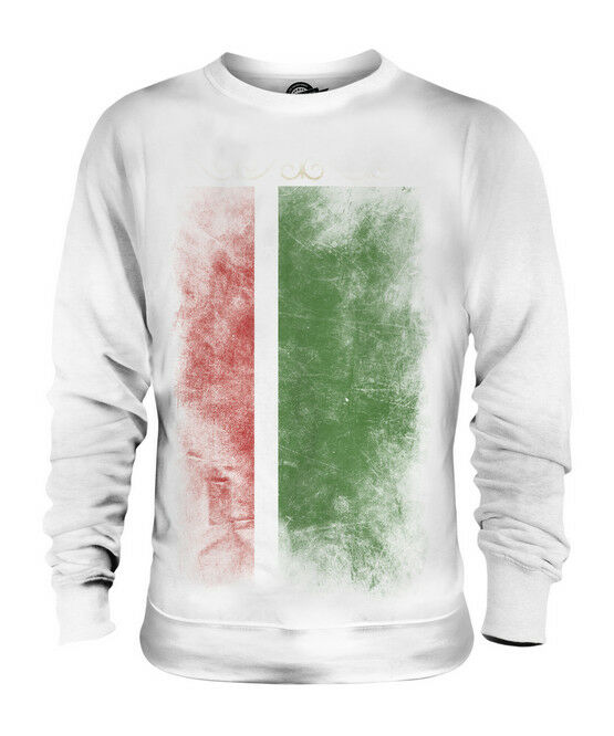 CHECHEN REPUBLIC FADED FLAG UNISEX SWEATER TOP FOOTBALL GIFT SHIRT CLOTHING