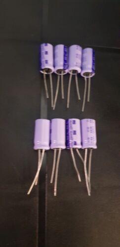 NOS vintage radio Spares RS 470uF 16 V condensateur 8 x PIECES