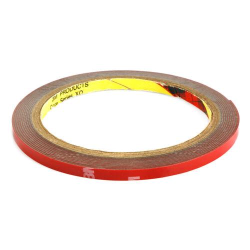 Vehículo de 5,6,10,12,20 mm doble cara cinta de espuma acrílica adhesivo de coche de la etiqueta engomada