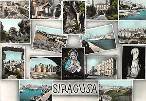 Cartolina-Postcard-Siracusa-Vedutine-Alterocca-VG