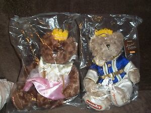 """LIMITED EDITION """"LILY & GULLIVER"""" EASYJET TEDDY BEARS BRAND NEW"""