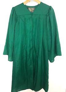 Oak Hall Graduation Gown Size 56 58 Choir Green Robe Clergy