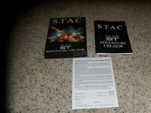 STAC-Atari-St-Box-and-manual-only-no-game