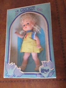 Cricket-Doll-by-Lovee-Vintage-Mint-in-Box-Blonde-NRFB-BD80