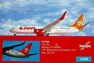 Herpa-ALI-1-500-Boeing-737-900ER-LIONE-AIR-pk-ljz-70th-527989-modellairport500