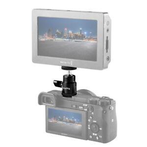 SmallRig-1-4-034-Ball-Head-Hot-Shoe-Flash-Bracket-Holder-Mount-for-DSLR-Camera-761