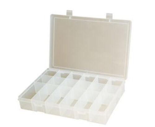 18 Compartment Small Plastic Storage Box