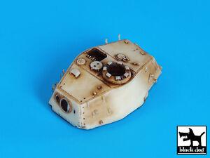 Blackdog Models 1//72 GERMAN KING TIGER TANK TURRET Resin Set