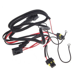 s l300 xenon hid light relay wiring harness kit h1 h3 h7 h8 h9 h11 9006 Wiring Harness Connector Plugs at cos-gaming.co