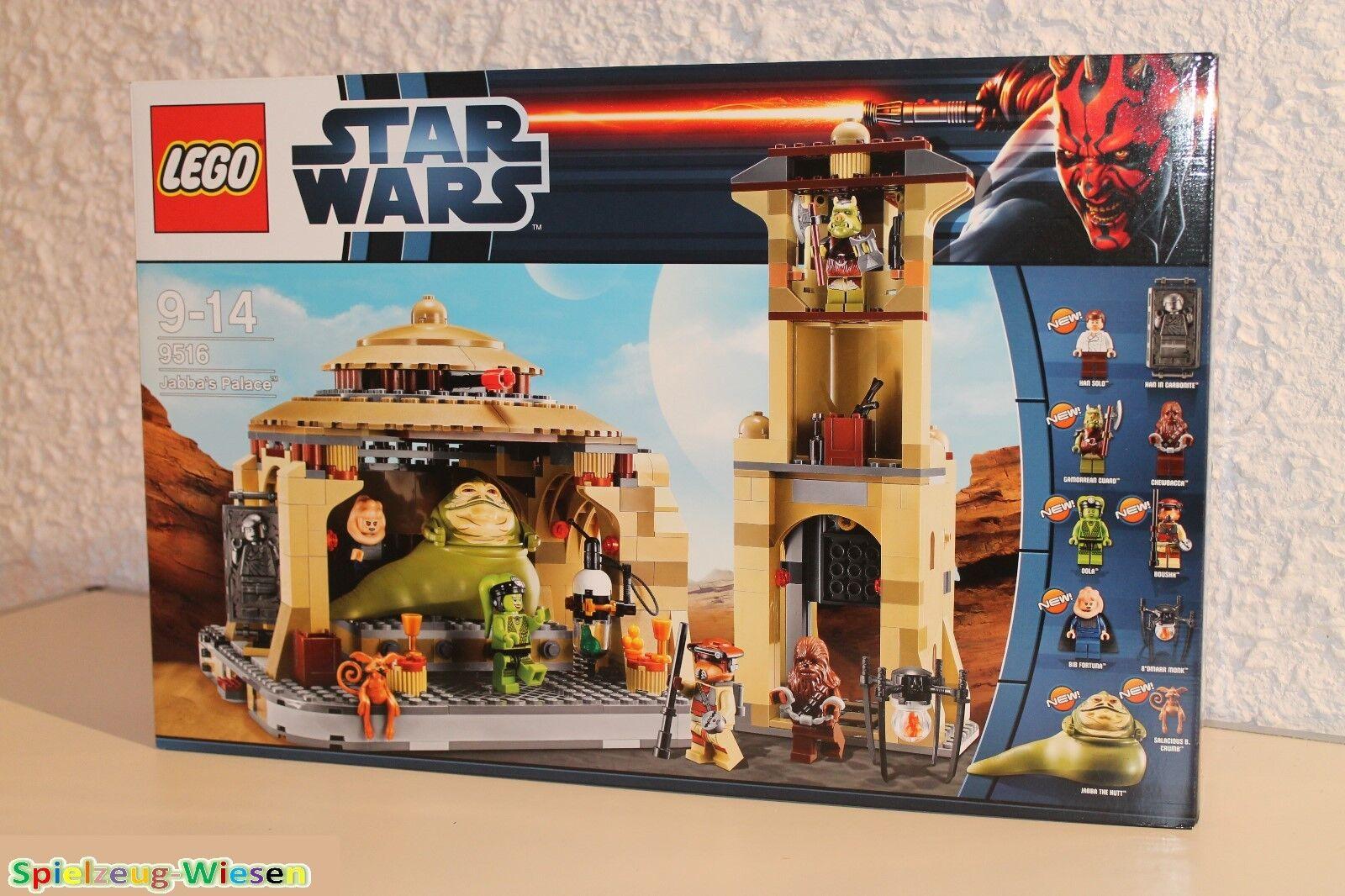 LEGO ® Star Wars ™ 9516 Jabba's Palace ™ - NOUVEAU & NEUF dans sa boîte -