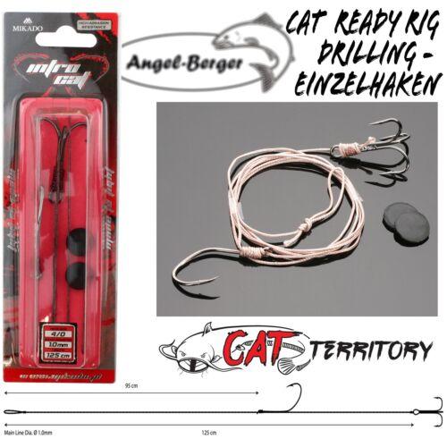 Mikado Cat Territory Ready Rig Drilling Einzelhaken Wallervorfach Welsrig