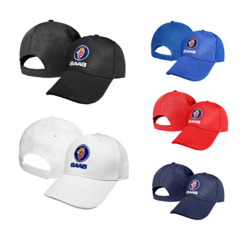 SAAB CARBON Baseball Cap Embroidered Auto Logo Adjustable Hat Gift Mens Womens