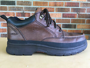 $155 Sperry Top-Sider Leather Men Lace Up Hiking Boots Brown Sz 11.5 M