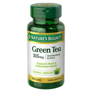 Nature-039-s-Bounty-Green-Tea-Extract-315-mg-Capsules-100-ea-Pack-of-2