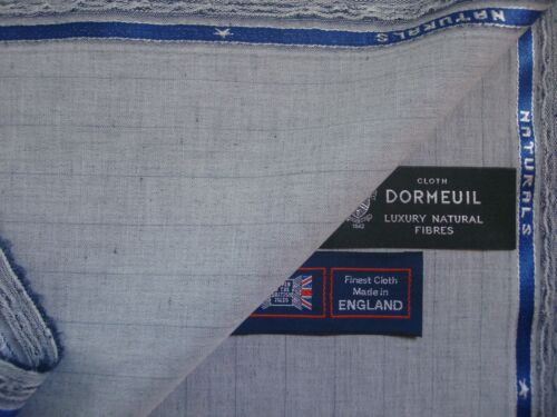 20/% LINEN,15/%WOOL,15/% MOHAIR SUITING//JACKETING FABRIC 2.1 m DORMEUIL 50/%COTTON