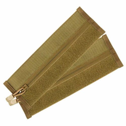Condor Zipper Strip 2 Pièces pour Gilet Tactique Crochet /& Boucle Coyote Brown