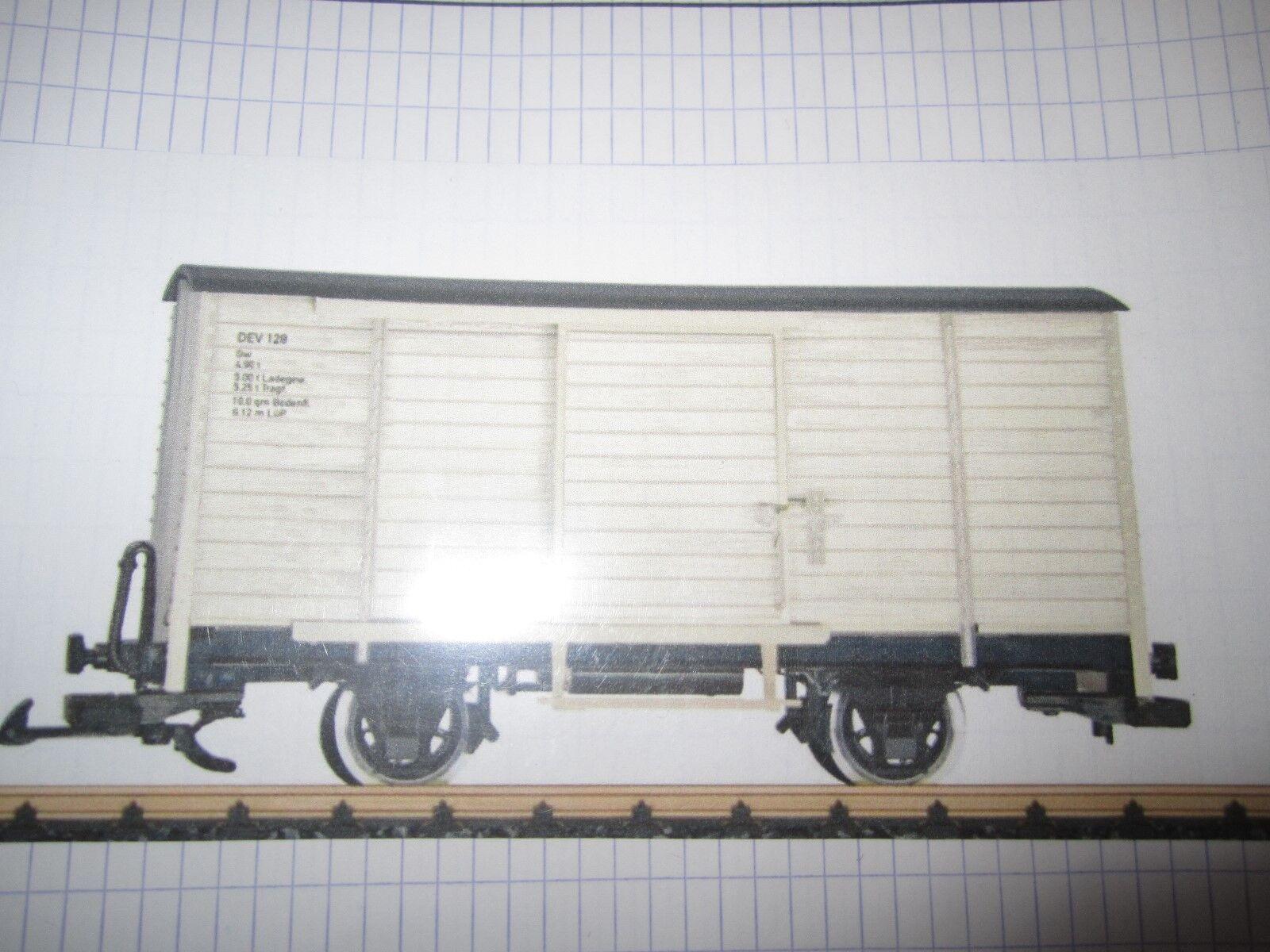 Playmobil  LGB trein train goederen wagon neu new 4000 4001 3770 5300