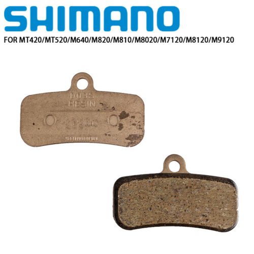 Shimano D03S Disc Brake Pads Resin for MT520 M640 M820 M8020 M7120 M8120 M9120