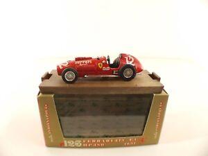 """Brumm r126 • Ferrari 375 F.1 HP380 1951 • 1/43 jamais joué en boîte /boxed - France - État : Occasion : Objet ayant été utilisé. Consulter la description du vendeur pour avoir plus de détails sur les éventuelles imperfections. Commentaires du vendeur : """"jamais joué"""" - France"""