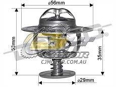 DAYCO Thermostat FOR Toyota Hilux 1//98-4//05 2.7L MPFI RZN154R 3RZ-FE
