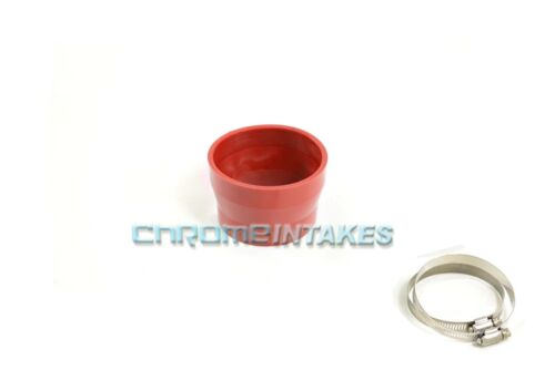 """RED 2.75/""""-3/"""" AIR INTAKE//PIPING RUBBER REDUCER COUPLER FOR MITSUBISHI//EAGLE"""