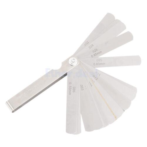 Fühlerlehre Abstandslehre Ventillehre Ventilspiel 32 Blatt 0,04-0,88mm