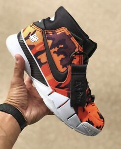 hot sale online 29c20 8ff24 Image is loading Nike-Kobe-1-Protro-PE-x-Undefeated-Exclusive-