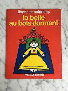 La Bella Au Addormentata Fernand Nathan 1974