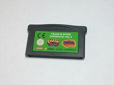 Nintendo GBA-Crash & Spyro super pack vol. 3