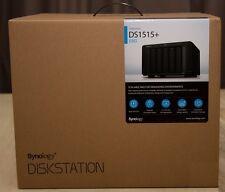 Synology DiskStation DS1515+ 5-Bay Desktop Network Attached Storage Enclosure