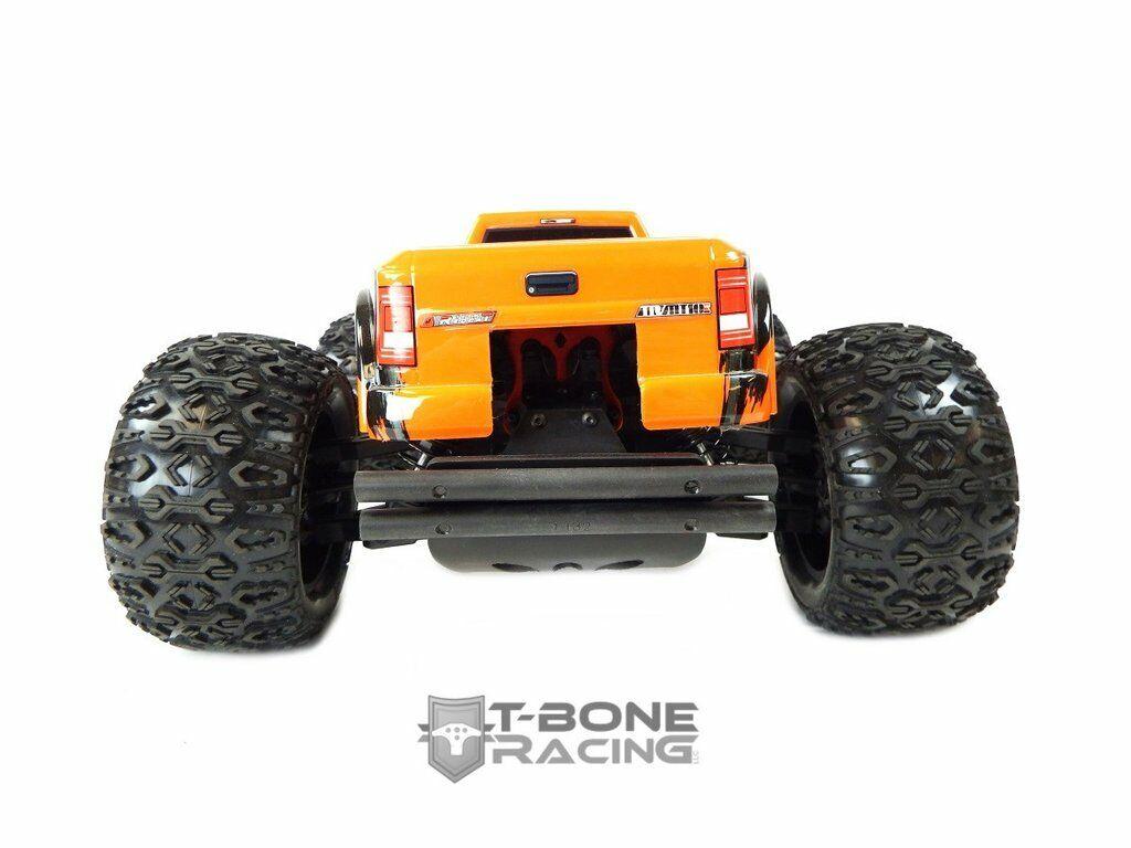 4Stk Gummi Reifen für HSP Hongnor ZD Racing LRP VRX Redcat FTX Carnage 1:10 RC