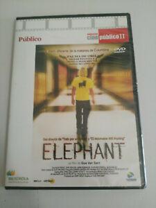 ELEPHANT-GUS-VAN-SANT-DVD-SLIM-SEALED-NUEVA-ESPANOL-ENGLISH