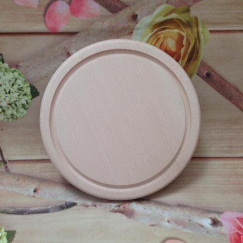 Tablón de madera sólida tabla de cortar queso Plato 22cm Navidad Regalo De Boda