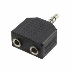 Adaptateur Jack 3,5mm audio splitter stéréo 1 prise male vers 2 femelles double