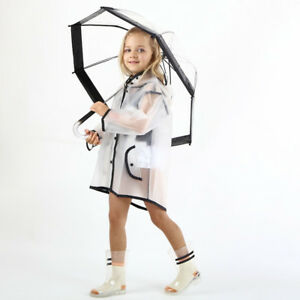Poncho Children/'s Kids Boys Girls Re-Usable 100/% Waterproof Poncho Lightweight