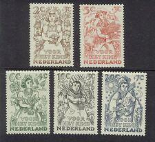 NVPH 544-548 Kind 1949 luxe postfris (MNH)