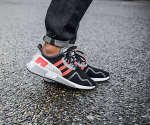 Details about adidas Original EQT Cushion ADV Runners AH2231 BlackTurboWhite Men Size 13