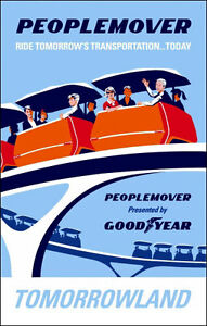 Disneyland-Peoplemover-Ride-Poster-Disney-Tomorrowland-Buy-Any-2-Get-1-Free