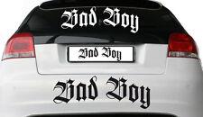 BAD BOY - Aufkleber ca. 60 cm lang