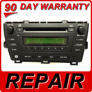 Details about REPAIR SERVICE ONLY Toyota Prius Radio 6 Disc Changer CD  Player 51882 51885 JBL