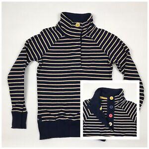JOULES-Cowdray-Jumper-Navy-Stripe-Pattern-Cotton-Button-Funnel-Neck-Women-s-8