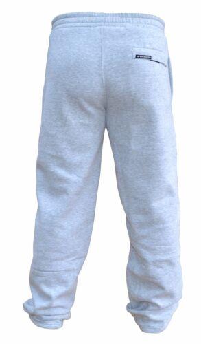 AQF hommes jogging bas de survêtements pantalon décontracté gym pantalon coton polaire rouge