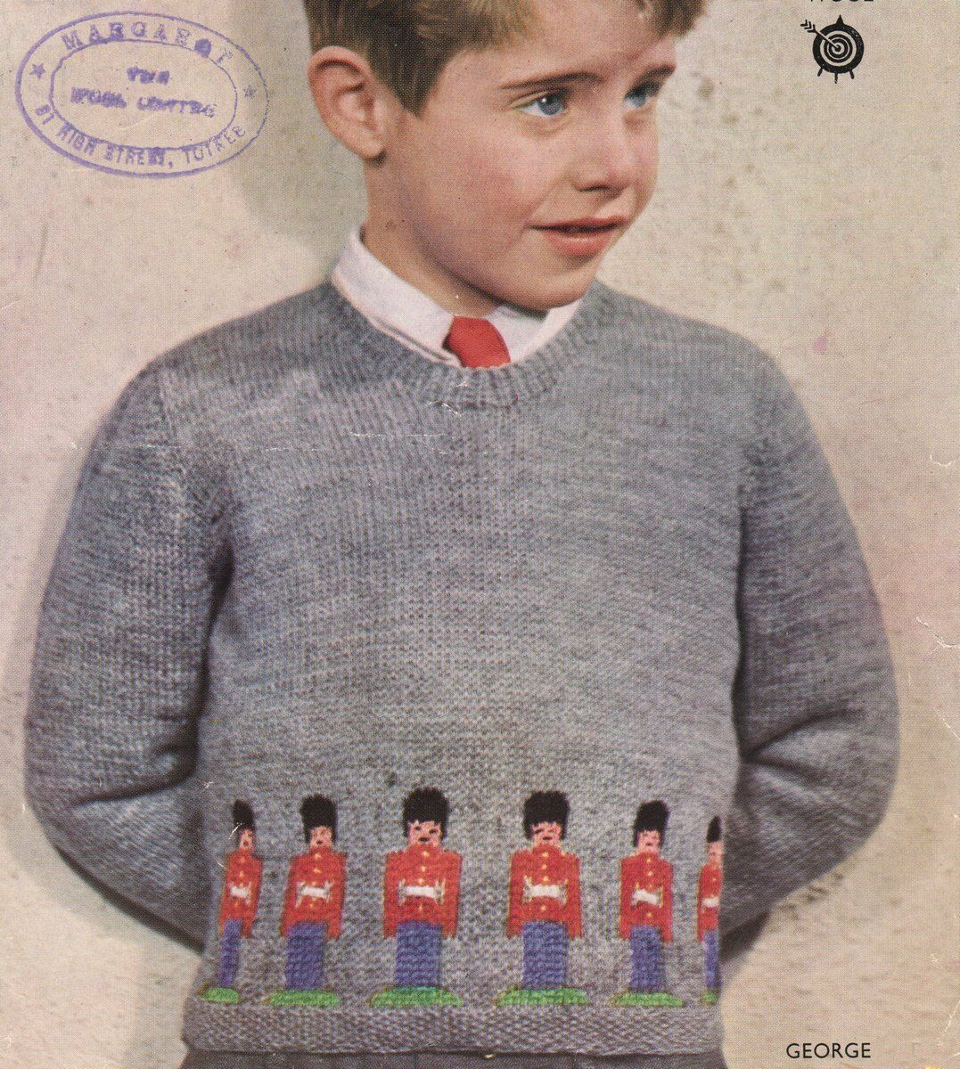 Tin Soldier Guardsman Prince George 4 Ply Sweater