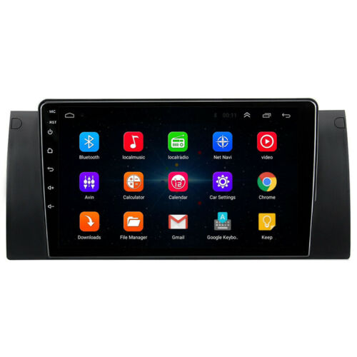 """For BMW E39 E53 X5 Canbus 9/"""" Android 9.1 Quad-core 2+32GB Car Stereo Radio GPS"""