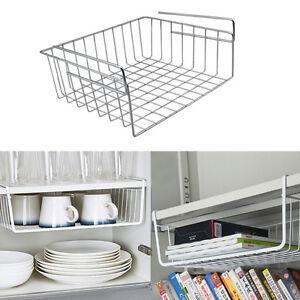 einh ngekorb f r k che und bad schreibtisch b cherregal gew rzregal aufbewahrung ebay. Black Bedroom Furniture Sets. Home Design Ideas