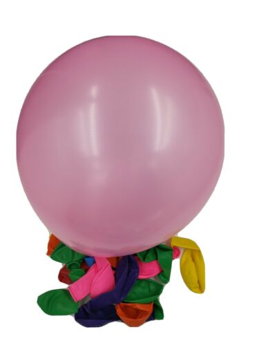 Party balloons 20 pieces 20 cm mixed colours